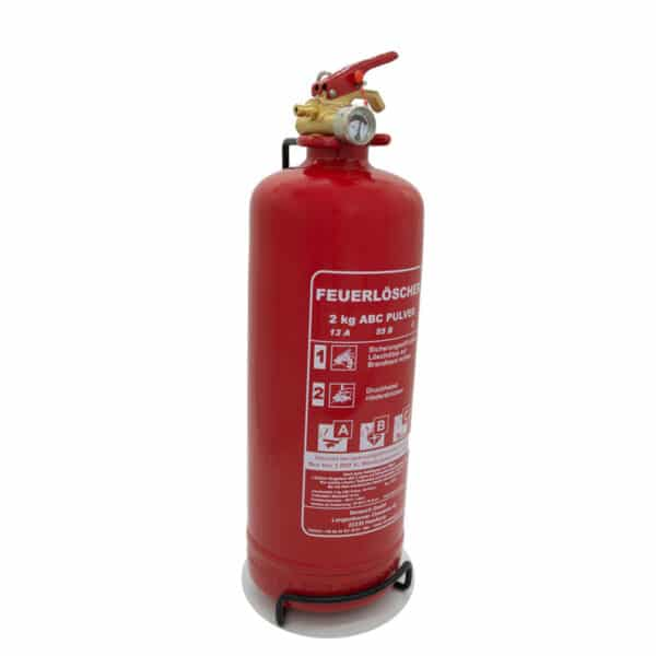 sonsorit security senso-fire abc pulverfeuerlöscher 2 kg