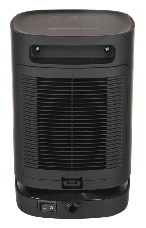 dm mini heater black back