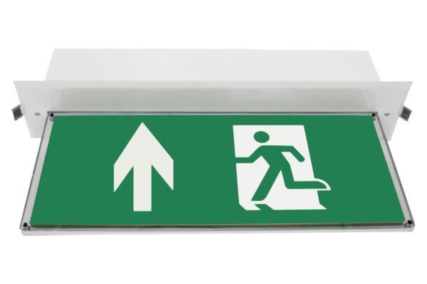 senso exit 0301 b notausgangsbeleuchtung led piktogramm hoch
