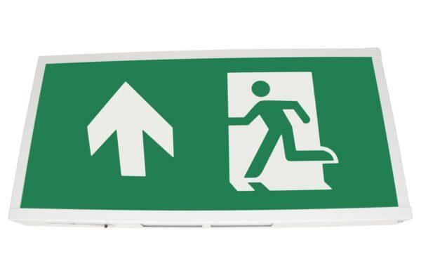 senso exit 0303 notausgangsbeleuchtung led ip40 piktogramm hoch