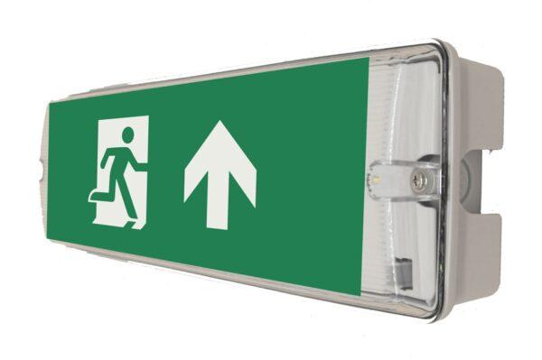 senso exit 0305 notausgangsbeleuchtung led ip65 piktogramm hoch